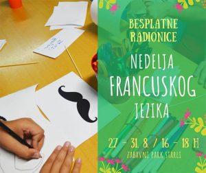Nedelja francuskog jezika za decu Starli Novi Sad
